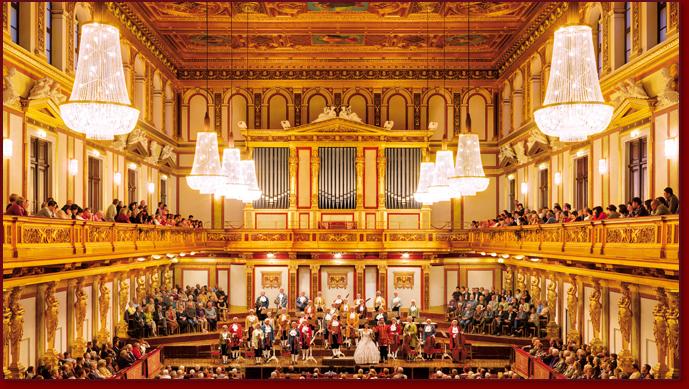 Musikverein - Sala Dorata Concerti Mozart di Vienna