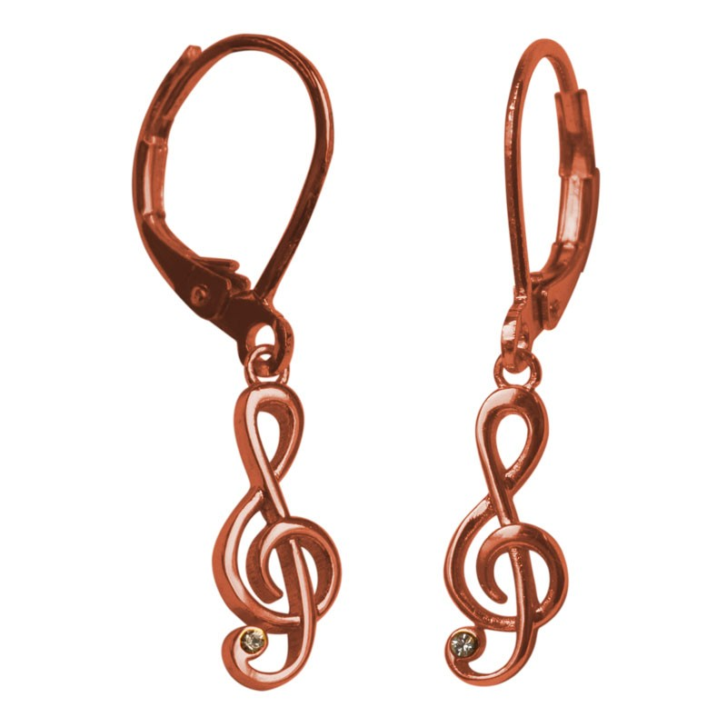 Clef Earrings